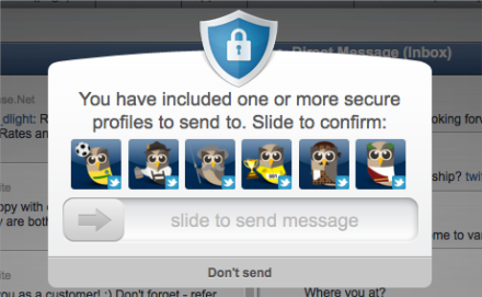 HootSuite Security Slide Lock