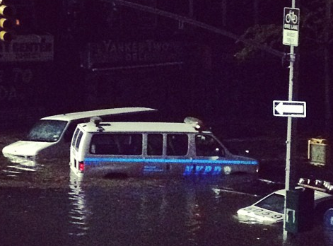 Instagram Photo Credit bobbyjohnwalker - NYPD flood