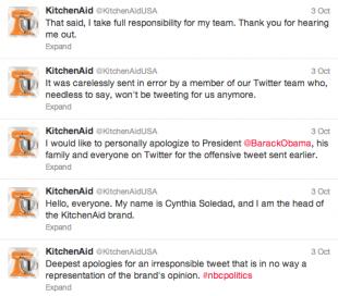 KitchenAid Cynthia Soledad Tweets