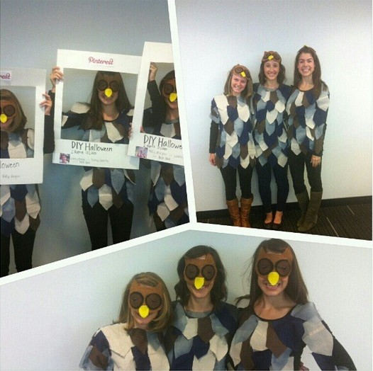 HootSuite #OwlOween costume contest winner: DIY and Pinterest