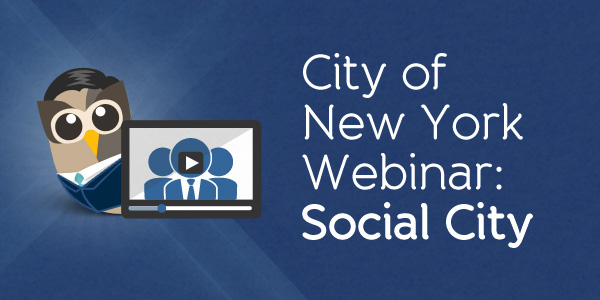 Webinar with HootSuite Enterprise and the City of New York