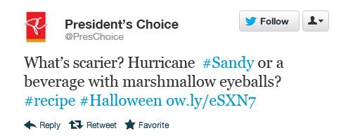 Tweet - President's Choice