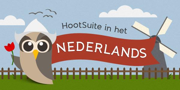Hootsuite in het Nederlands