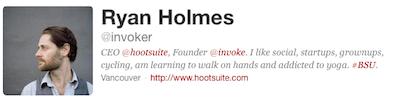Ryan Holmes Twitter