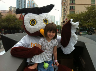 Gillian and Owly