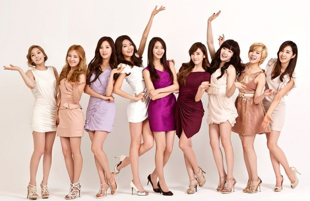Big in Japan... Girls' Generation. Image from wiki