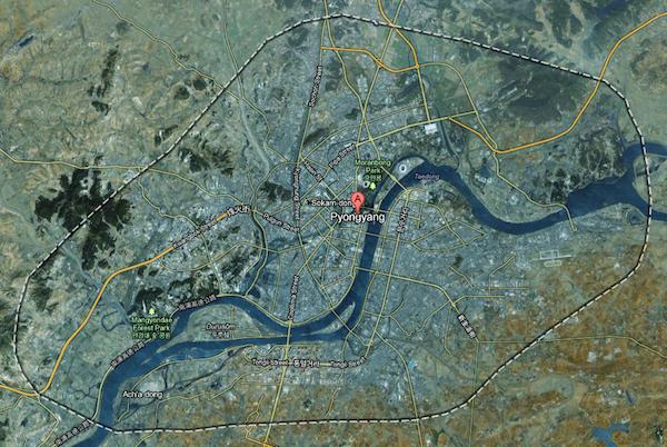 North Korea Google Maps