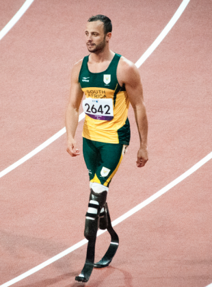 South African famed runner, Oscar Pistorius. Image from flickr Mister-E