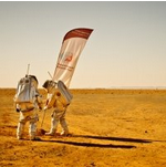 Austrian spacemen on Mars