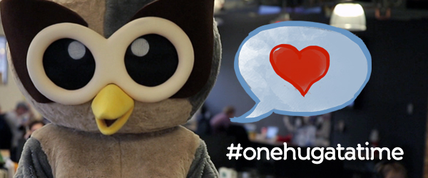 Spread the HootLove, #onehugatatime