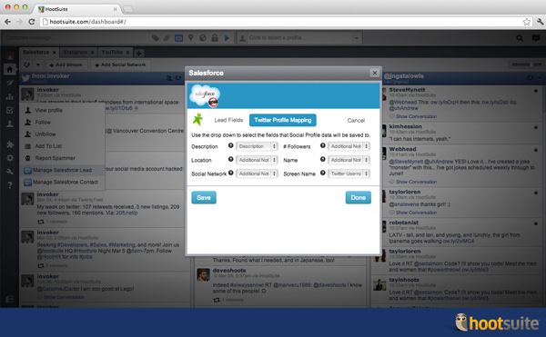 Salesforce app screenshot