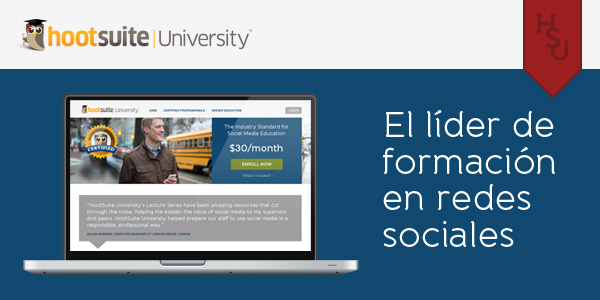 HootSuite University Spanish Header