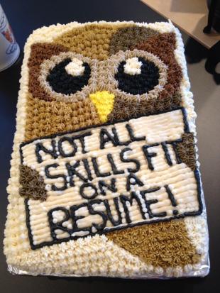 cake resume