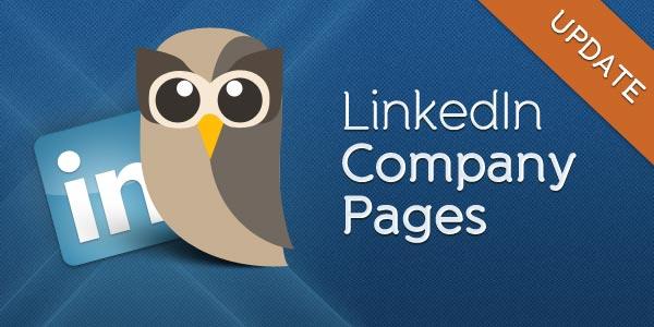 LinkedIn Pages Update header