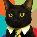 Business Cat 150x150