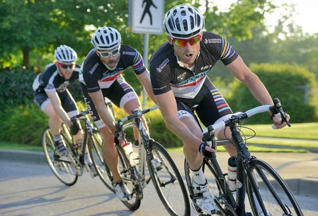 Simon Stanlake at the Tour de Victoria