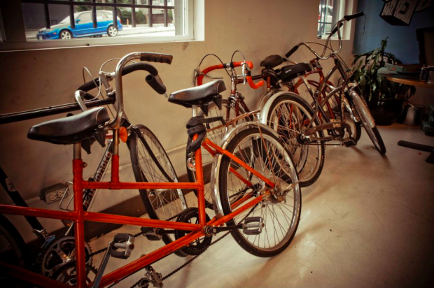 HootSuite lobby - a hub for vancouver cycling