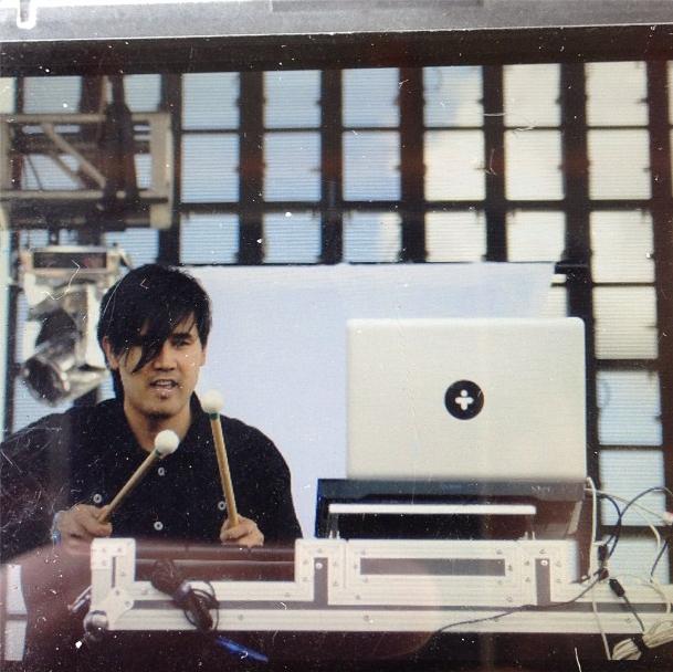 Creative Director Kenji Rodriguez, creating. Image courtesy David Thai