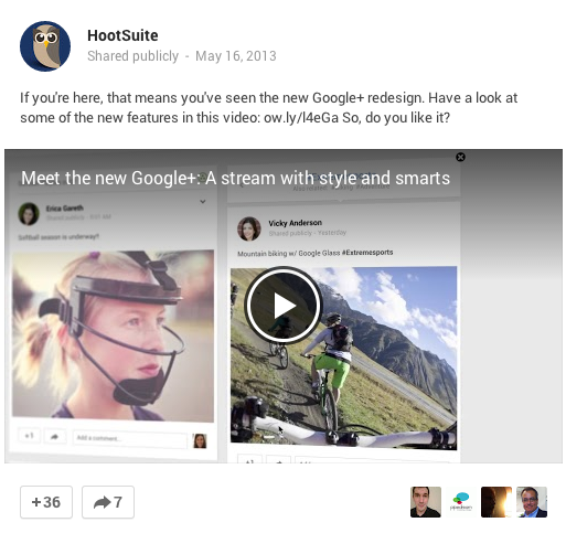 Coogle Plus Content About Google Plus