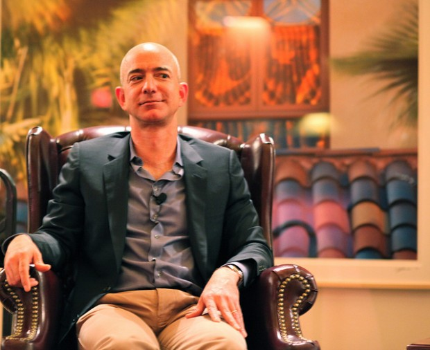 The new owner of the Washington Post, Jeff Bezos. Image by jurvetson.