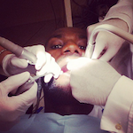 Lebron James at the Dentist 150