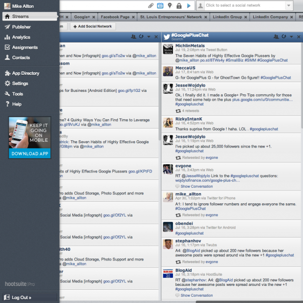 HootSuite-Streams-Twitter-Chat