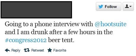 tweet from linkedin post
