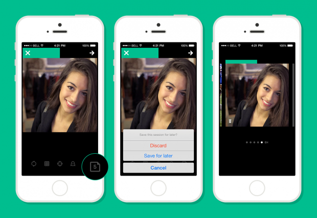 You can save up to 10 Vine drafts.