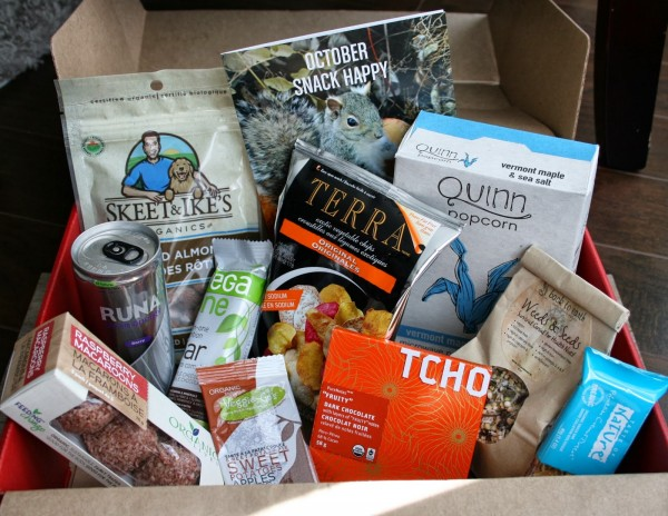 Ryan Holmes themed Snackbox. Image courtesy of Canadian Box Addict