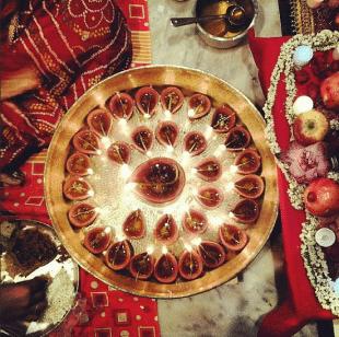 Instagram image of Diwali by @girishkhaitan