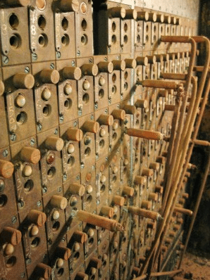 Telephone switchboard Battleship Texas by Sheila Scarborough via Flickr