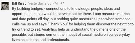 Measure your social media performance post - Bill Kirst