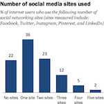 Pew Research 2013 - Multiple Social Networks 150