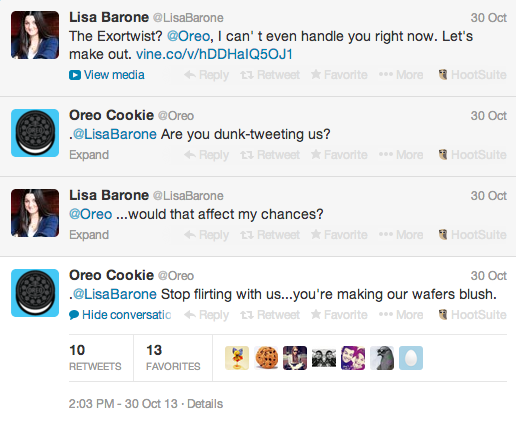 oreo awesome convo