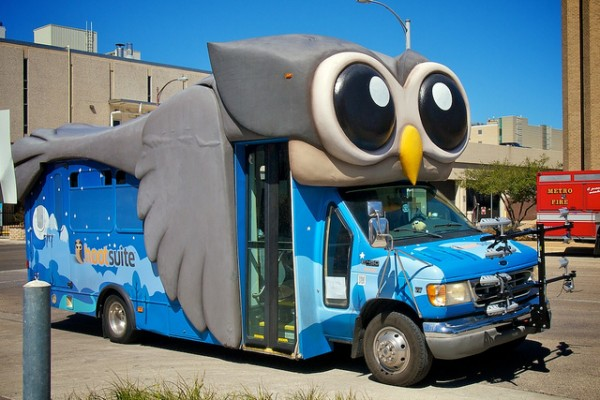 The HootSuite #HootBus