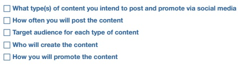 Content Strategy Checklist