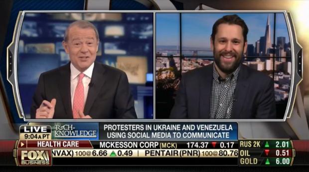 HootSuite VP of Business Development Greg Gunn on Fox News with