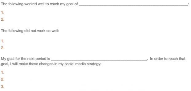 Social Media Strategy Guide Step 5 Checklist
