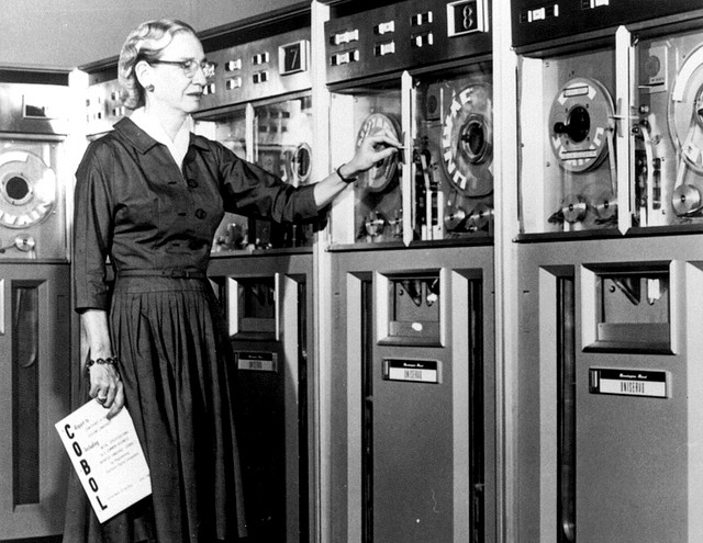Grace Hopper, 1952.