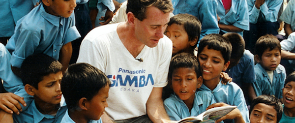 """""""World change starts with educated children.""""  –  John Wood, Founder, Room to Read"""