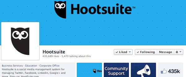 Hootsuite Facebook Page