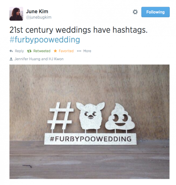 Wedding Hashtags