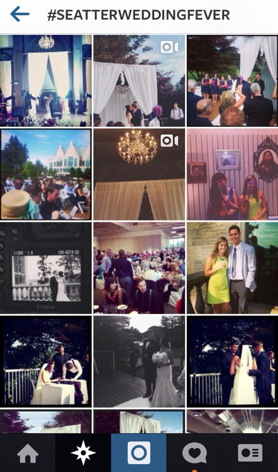 Wedding Instagram