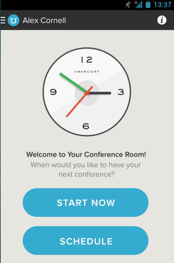uberconference mobile work app