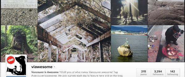Social Media For Tourism - Vancouver Is Awesome Instagram Highlight