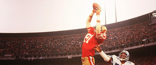 Dwight Clark and Everson Walls, San Francisco, Calif., 1982 Image by Cliff  via flickr