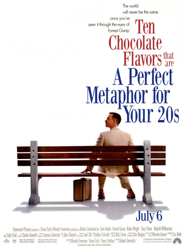 Click-Baity Forrest Gump