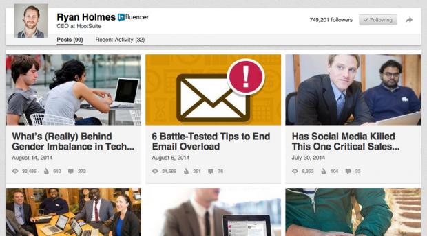 Use LinkedIn Publishing for Though Leadership