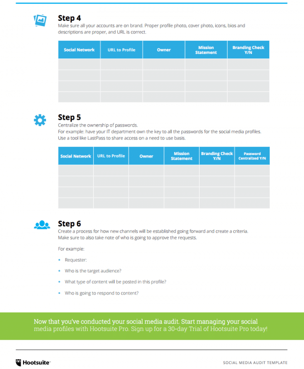 Social Media Audit Template 2