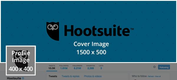 Social media templates -Suggested Twitter image dimensions